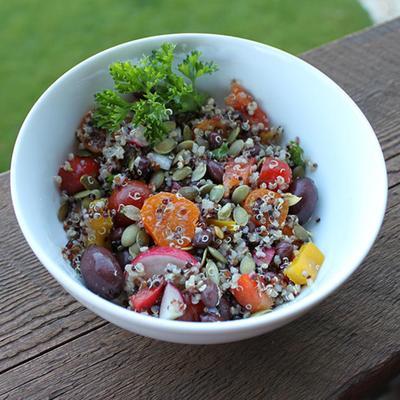 Colorful Quinoa Salad (untuk 6 Porsi)