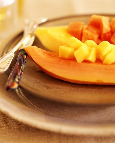 Papaya Wedges (untuk 2 Porsi)