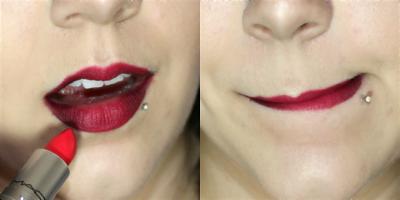 Mengatupkan Bibir Saat Pemakaian