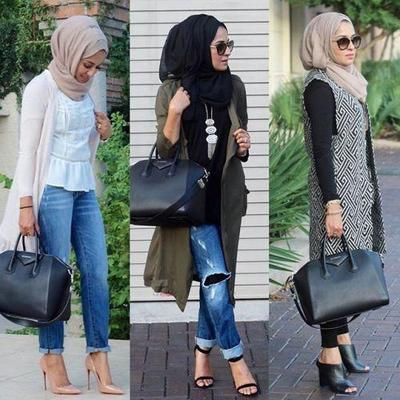 Tampil Percaya Diri Hadapi Interview Dengan Gaya Hijab Black White Fashion Beautynesia