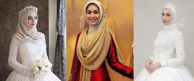 5 Inspirasi Gaya Hijab Pernikahan Kasual nan Elegan