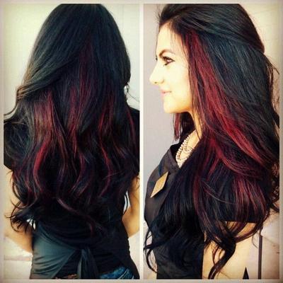 Warna Highlight yang Paling Bagus untuk Rambut Hitam  dd97dbde6e