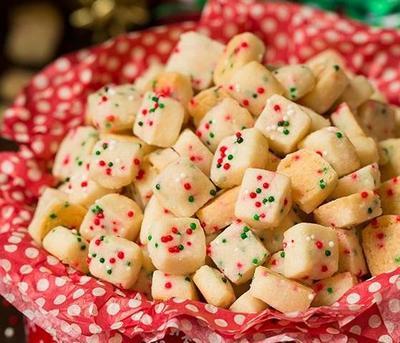 Resep Simple Funfetti Shortbread Bites, Cookies Mungil untuk Ramaikan Natal-mu