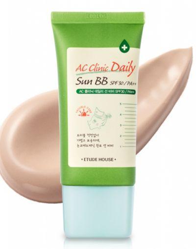 1. Etude House AC Clinic Daily Sun BB Cream
