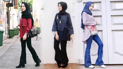 Hijabers, Jangan Ragu Padukan Celana Cutbray dengan Gaya Berikut untuk Tampil Fashionable!