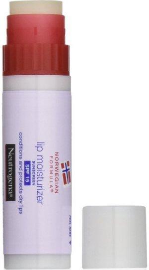 6. Neutrogena Norwegian Formula Lip Moisturizer Sunscreen, SPF 15 Lip Balm