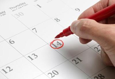 Tentukan tanggal belanja