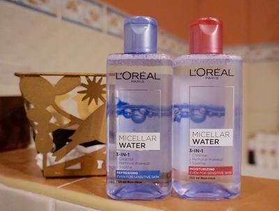 L'Oreal Micellar Water: Pembersih Wajah 3 in 1 Praktis untuk Kulit Wajah Bersih dengan Cepat