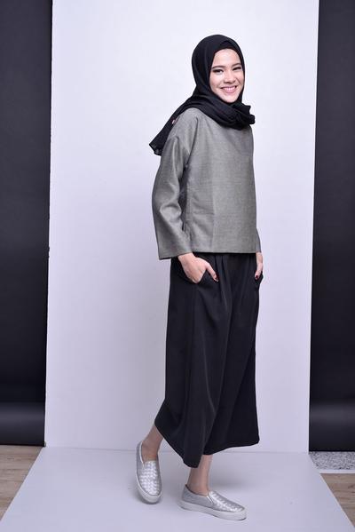 Inspirasi Padu Padan Celana Kulot Untuk Hijabers Backlinkco