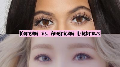 Korean Eyebrow vs American Eyebrow, Kalian Pilih yang Mana?