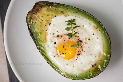 Baked Egg Avocado