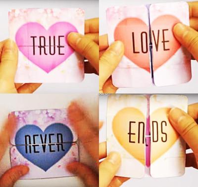 Yuk Buat Kartu Valentine Kreatif Anti Mainstream yang Bikin Si Dia Terkesan Seperti Ini!