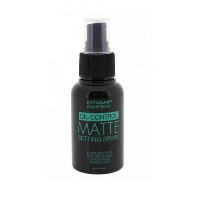 Oil Control Matte Setting Spray dari City Color Cosmetics