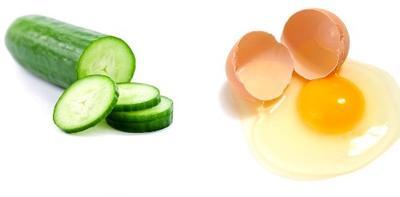 3. Masker Payudara Dari Timun & Kuning Telur