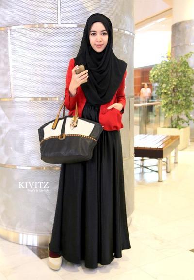 Inspirasi Gaya Baju Kerja Muslimah Syari Agar Cantik Dan Nyaman