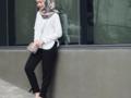 Dengan 6 Model Baju Kerja Casual Muslimah Ini, Tampil Modis ke Kantor Ngga Akan Ribet!