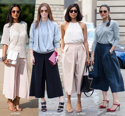 Yuk, Intip Padu Padan Celana Kulot Tanggung yang Fashionable!
