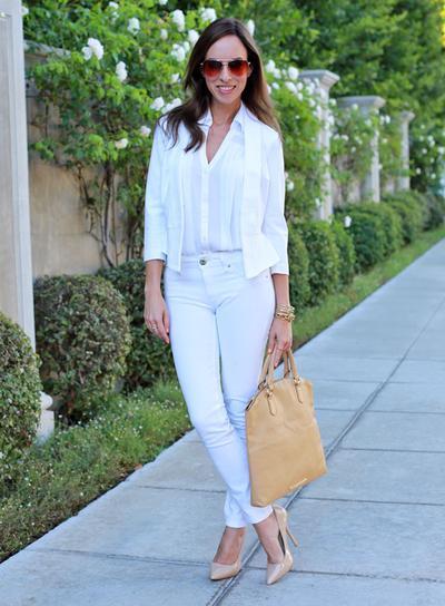 Ingin Tampil Kece Dengan Celana Jeans Putih Ini Dia Tipsnya