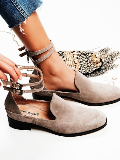FLAT SHOES SUEDE