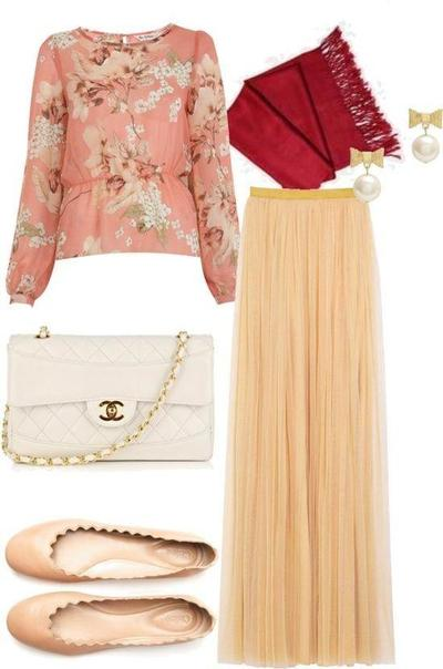 5 Warna Yang Cocok Untuk Padu Padan Warna Hijab Merah Muslim
