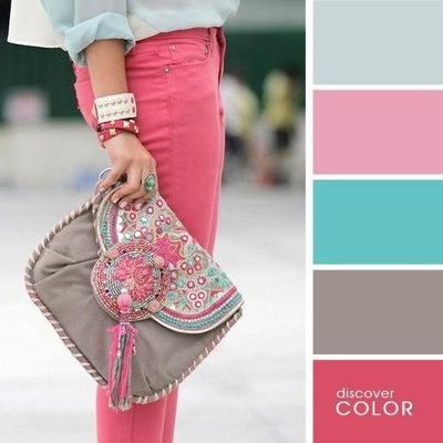 1. Pink Jeans Combination