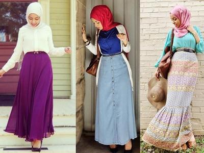 Daftar Jenis Rok Untuk Muslimah Agar Semakin Stylish Muslim