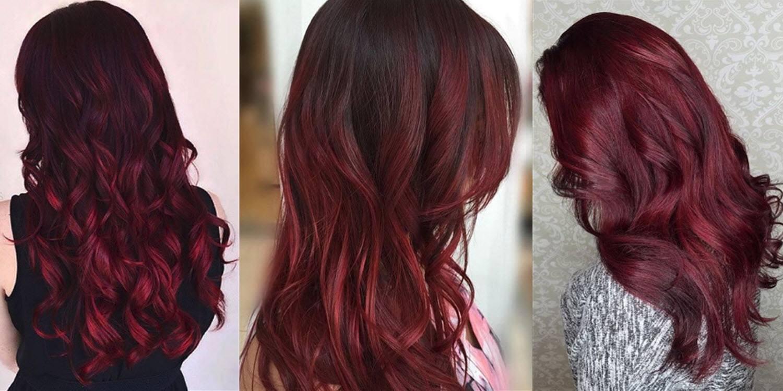 Yuk Saatnya Tampil Memikat Dengan Shades Of Burgundy Hair