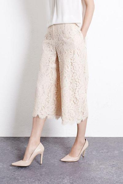 Lace Culottes