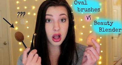 Pilih Beauty Blender atau Oval Brush? Cari Tahu Perbandingannya di Sini!
