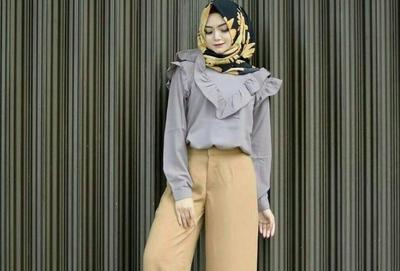 Hijabers, Inilah Atasan yang Cocok untuk Dipadukan dengan Celana Kulot Hijab
