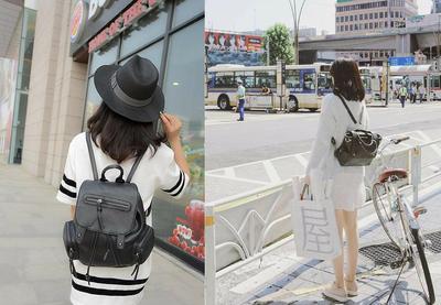 Inspirasi Tampil Stylish dan Girly dengan Tas Ransel Ala Jepang Ini
