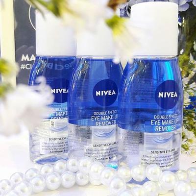 Nivea Double Effect Eye Make-up Remover, Solusi Jitu Membersihkan Make Up dengan Cepat!