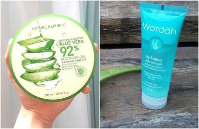 Wardah Aloe Vera Gel vs Nature Republic, Mana yang Lebih Oke?