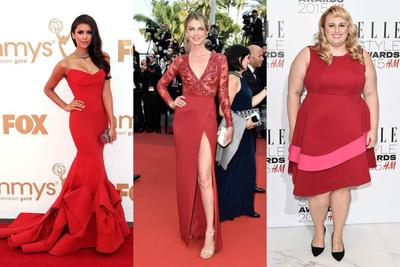 Red is the New Sexy! Intip Gaya Menggoda 4 Selebriti dengan Dress Merah Ini