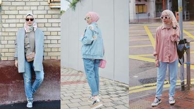 Tanpa Ribet Ini Inspirasi Padu Padan Hijab Kasual Dengan Celana
