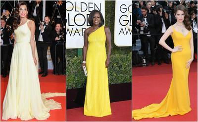 Yuk, Intip Inspirasi Gaun Malam dengan Warna Kuning yang Super Elegan dan Cantik Ini!