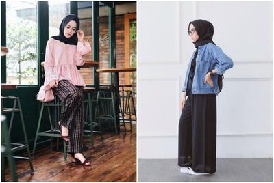 Ini Dia Inspirasi Celana Palazzo Hijab yang Bikin Kamu Tambah Fashionable!