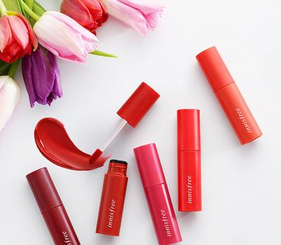 Yuk, Dapatkan Bibir Cerah Merona dengan Lip Tint Innisfree Vivid Cotton Ink