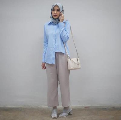 Model Baju Batik Zaskia Adya Mecca