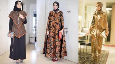 Ini Dia Padu Padan Hijab dengan Batik yang Lagi Hits di Tahun Ini