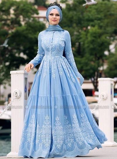 Ini Dia 5 Rekomendasi Bahan Dress Hijab Untuk Pesta Yang Nyaman Dan