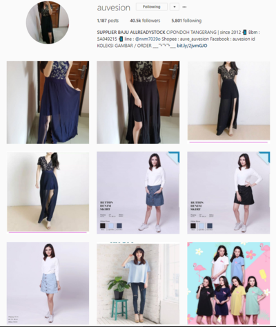Wajib Cek! Ini Daftar 7 Online Shop dengan Koleksi Pakaian yang ... 4be8caa5ba