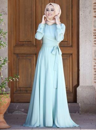 Wah Ternyata Ini Dia Model Dress Hijab Yang Anggun Untuk Ke Pesta