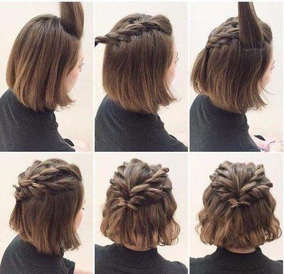 Tips Pintar Menata Rambut Pendek Agar Tak Membosankan  01d9de0069