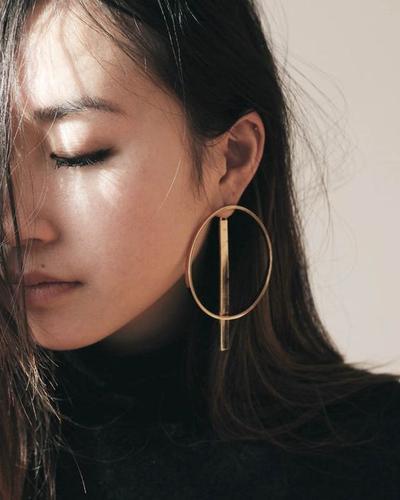 Image result for artis korea pakai steatments earring