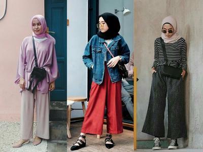 Dear Hijabers, Yuk Intip Tips Menggunakan Kulot yang Bikin Kamu Keliatan Langsing!