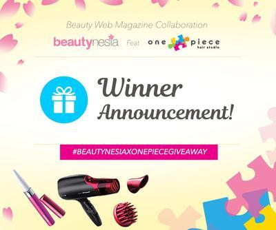 Pengumuman Pemenang Beautynesia X OnePiece Giveaway