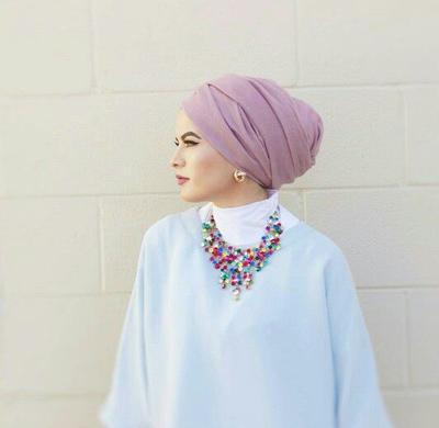 Kalung dengan Hijab Turban 2bcdb958c8