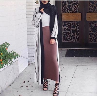 Ladies Ini Lho Atasan Hijab Yang Cocok Dengan Rok Panjang