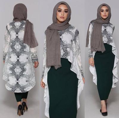 Ladies Ini Lho Atasan Hijab Yang Cocok Dengan Rok Panjang Muslim
